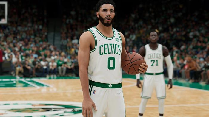 Jayson Tatum in NBA 2K22