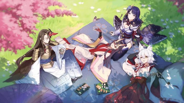 Genshin Impact Baal picnic