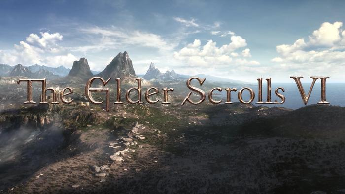 The Elder Scrolls 6 Reveal Art Logo