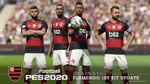flamengo kit data pack 6 0 pes 2020