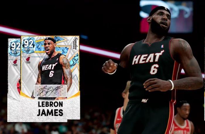 Lebron James in NBA 2K22