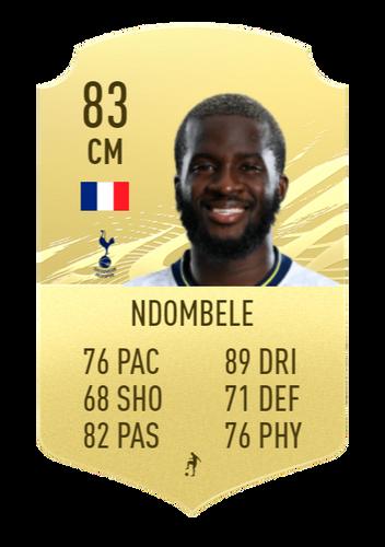 FIFA 22 Tanguy Ndombele