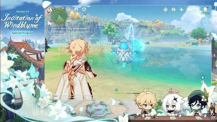 Genshin Impact Endora screenshot
