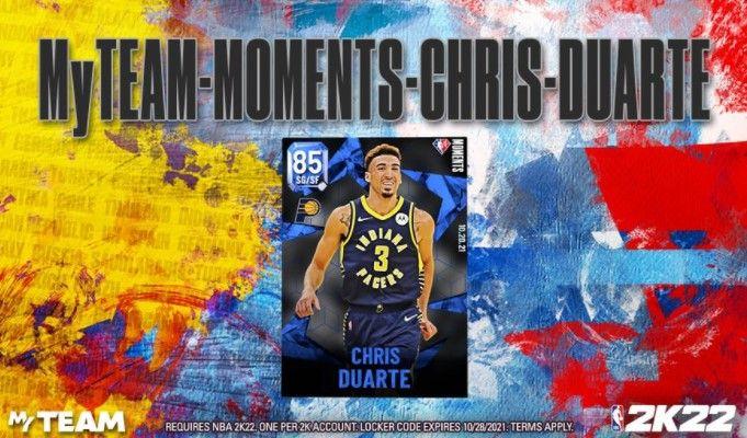 Chris Duarte in NBA 2K22