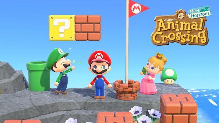Animal Crossing 1.9 Update Mario Day