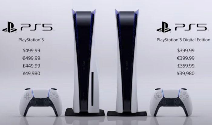 PS5 price 1