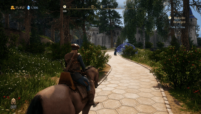 King's Bounty 2 HUD Screenshot