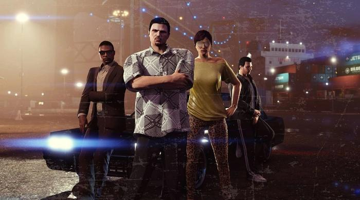 GTA Online key promo art