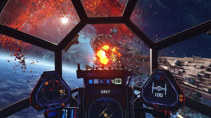PS Plus May 2021 Predictions Squadrons TIE Fighter