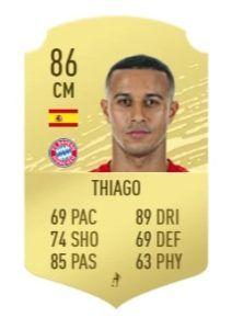 thiago fifa 21 prediction