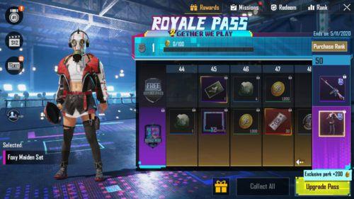 PUBG Mobile Season 12 Royale Pass skin 1