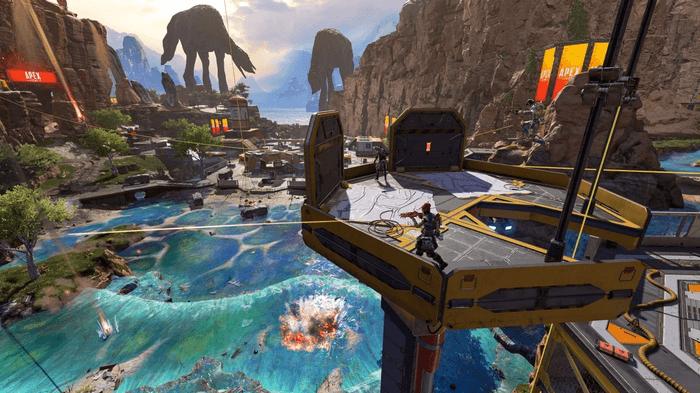 Changes to Slum Lake in Apex Legends