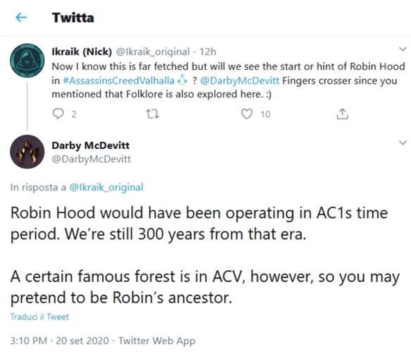 assassins creed valhalla sherwood forrest reveal