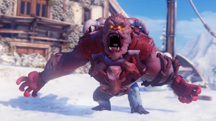 Overwatch yeti hunter winter wonderland 2020