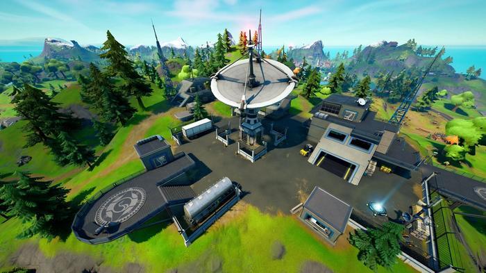Fortnite Season 7 Satellite Station Screenshot