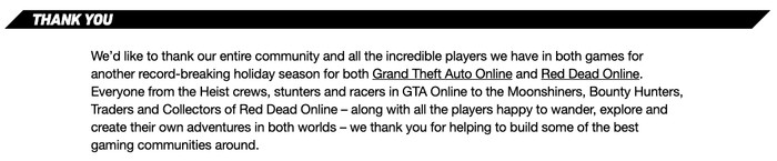rockstar thank you to fans 1