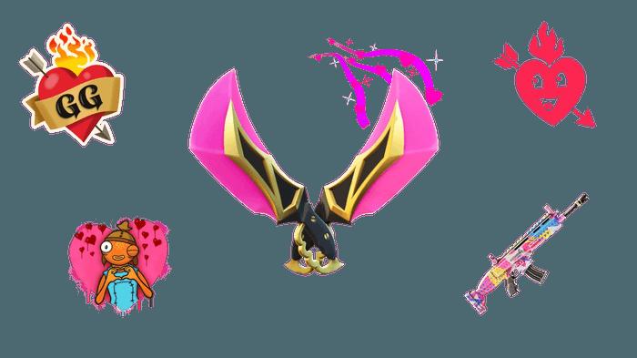 Fortnite Hearts Wild Team Battle Rewards