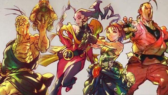 Street Fighter V Season 5 Characters
