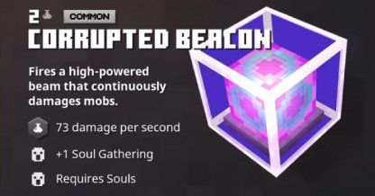 minecraft dungeons corrupted beacon