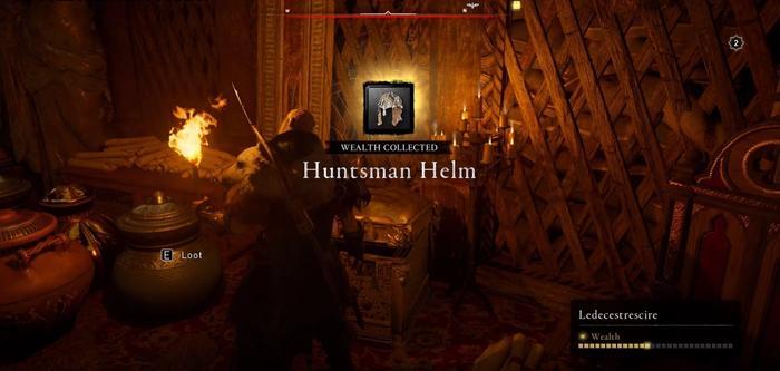 Assassins Creed Valhalla Huntsman Helm Collected