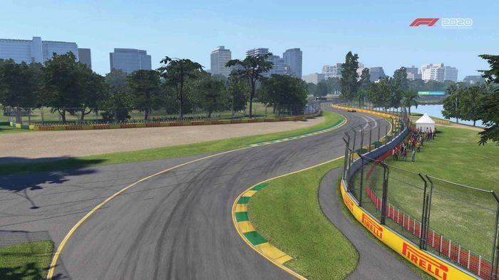 F1 2020 Australia turn 6 Y