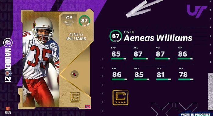 Aeneas Williams team captain