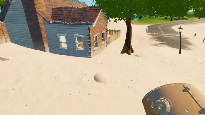 Fortnite Quicksand