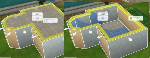 Sims 4 building ceilings