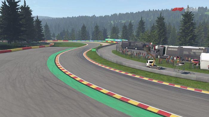 F1 2020 Belgian GP Spa Turns 13 14 Campus