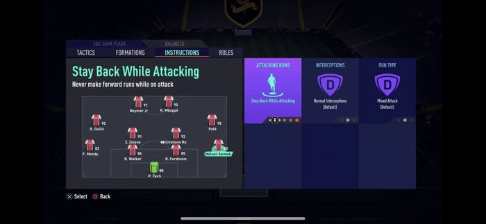 fifa 21 stay back