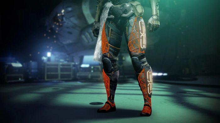 Destiny 2 Season 14 Season of the Splicer Path of the Burning Steps Leg Armour