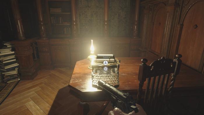 Resident Evil Village Typewriter