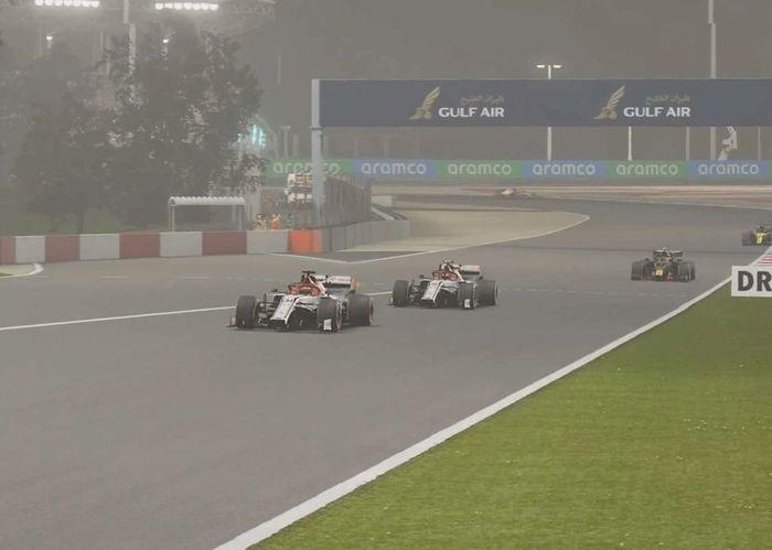 The Bahrain GP in F1 Esports 2020