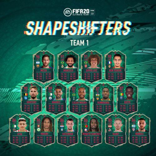 shapeshifters team 1 fut 20