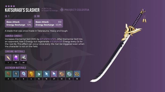 Genshin Impact Katsuragi's Slayer