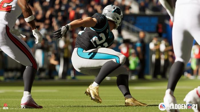 TWIST AND SHOUT: Ball carriers got decent updates to animations this year
