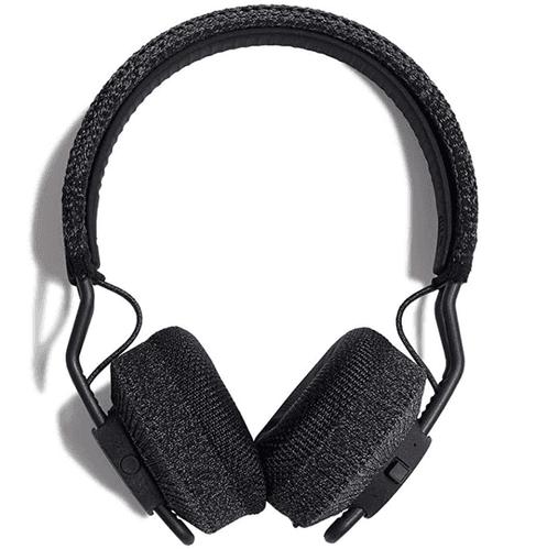Best running headphones adidas product image of a pair of black over-ear headphones