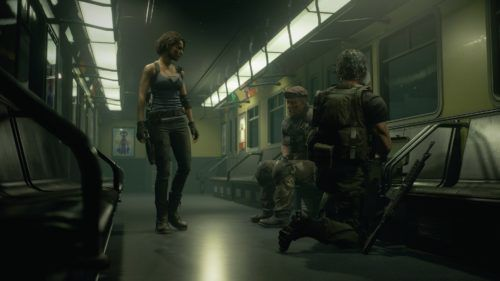 resident evil 3 characters