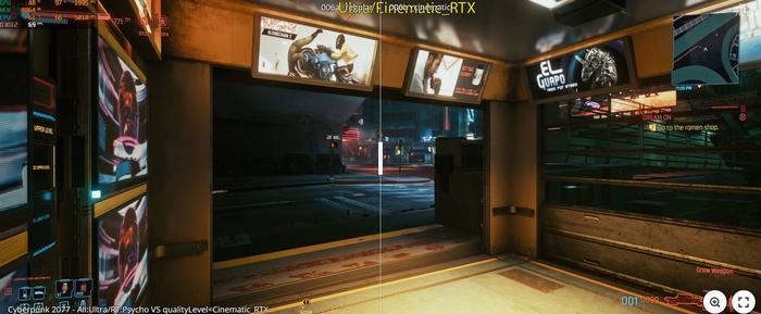 Cyberpunk 2077 Hidden RTX Cinematic Comparison 1