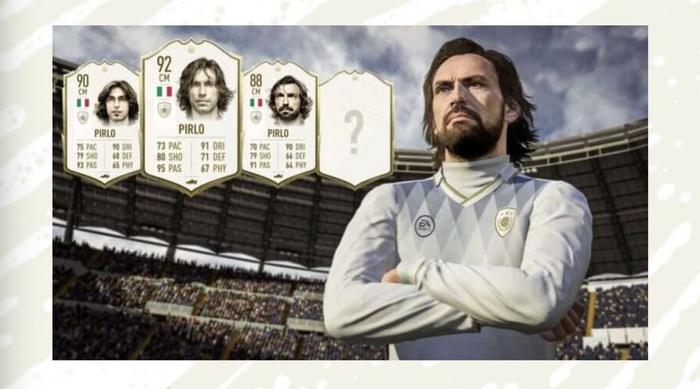 Pirlo FIFA 20 Icon
