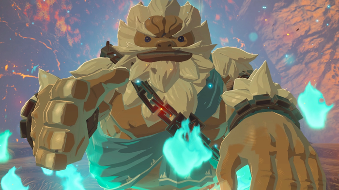 The Legend of Zelda Breath of the Wild Goron Key Art Nintendo Switch