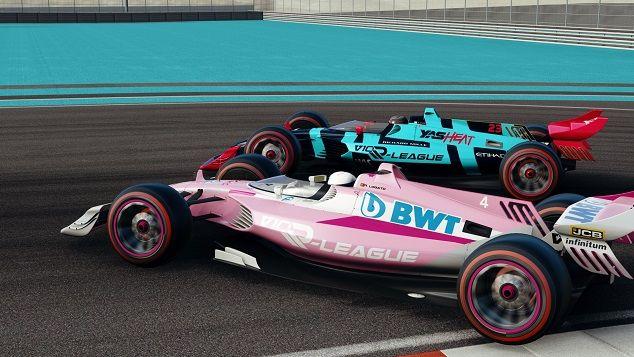 Racing Point Yas Heat Yas Marina Round 7 Season 1 V10 R-League