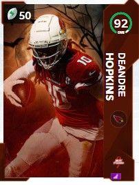 deandre hopkins most feared mut21