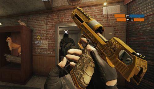 r6 golden gun