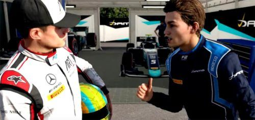 Devon Butler & Lukas Weber in F1 2019