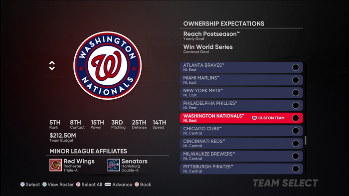 MLB The Show 21 Franchise Mode Best Teams Highest Rated Budget Pitching Hitting Batting Fielding