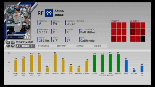 mlb the show 20 power hitters judge