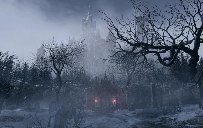 Resident Evil Village 8 Location Winter Castle