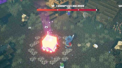 corrupted cauldron minecraft dungeons