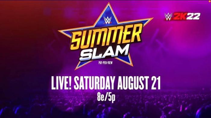 WWE 2K22 summerslam reveal trailer gameplay cover